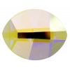 Swarovski Pure Leaf 2204 10x8mm Aurora Borealis Crystal